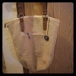 The Sak Hobo Bag Crochet Tan